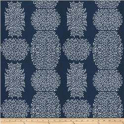 Fabricut Beaded Batik Outdoor Indigo
