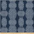 Kendall Wilkinson Beaded Batik Outdoor Indigo