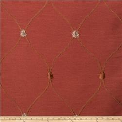 Fabricut Rockaway Lattice Taffeta Sienna