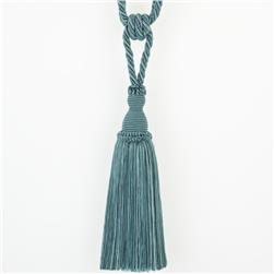 "Trend 29"" 02871 Single Tassel Tieback Teal"