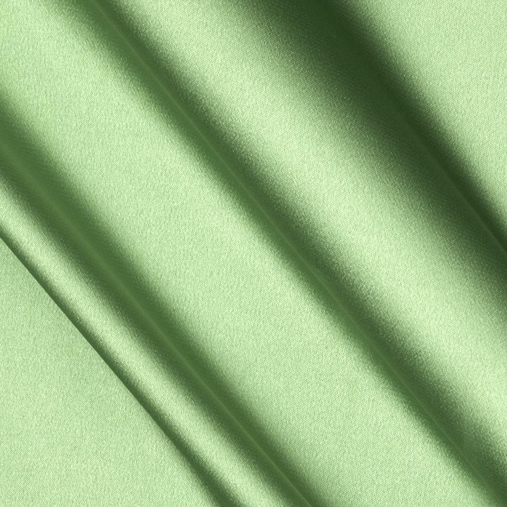 Stretch Charmeuse Satin Eucalyptus