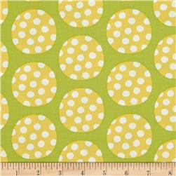 Precious Dots on Dots Green/Yellow