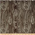 Riley Blake Knock on Wood Wood Dark Gray