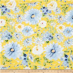 Dena Designs Sunshine Linen Blend Gardenia Yellow