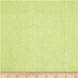 Herringbone Tonal Green