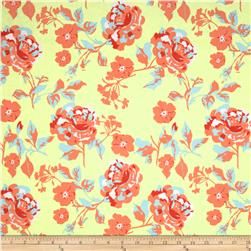 Riley Blake Kensignton Large Floral Yellow