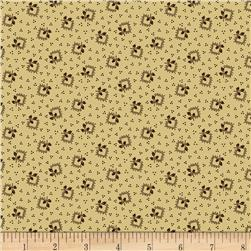 Judie's Album Quilt Holly Frames Cream