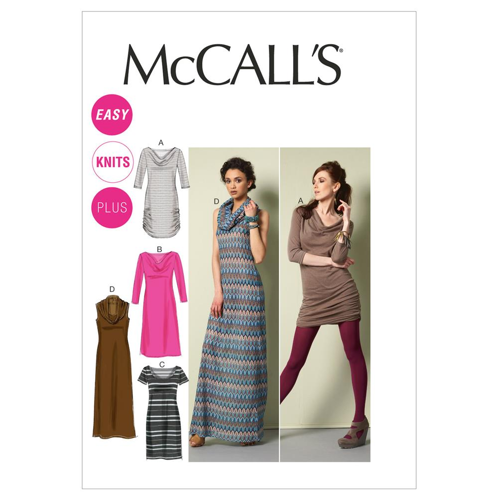 McCall's Misses'/Women's Dresses Pattern M6612 Size B50