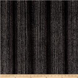 Minky Soft Cuddle Fringe Charcoal