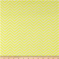 Bright Now Mini Chevron Yellow