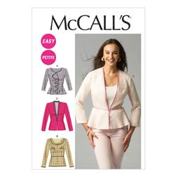 McCall's Misses'/Miss Petite Lined Jackets Pattern M6902 Size B50