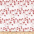 Riley Blake Mod Studio Floral Red