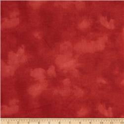 "108"" Wide Flannel Mottled Red"