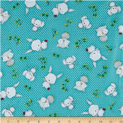 Hangin' Out Animal Toss Dark Turquoise