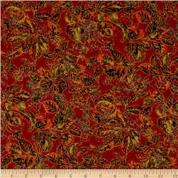 Moda Autumn Elegance Metallic Woods Cinnamon