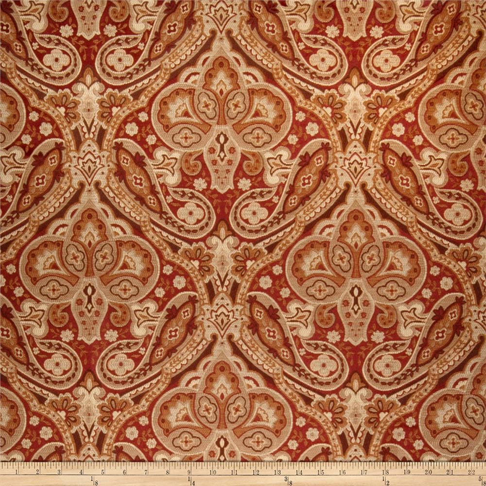 Jaclyn Smith 02102 Jacquard Brick