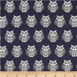 Papillon Owls Grey