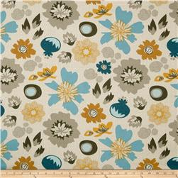 Riley Blake Lost and Found 2 Home Decor Floral Aqua