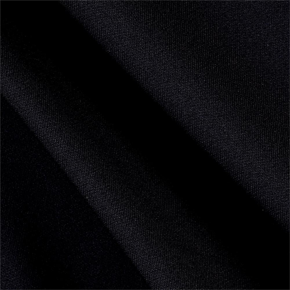 Polyester Twill Double Knit Black