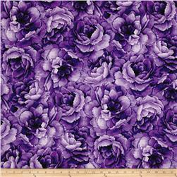Belleflower Large Tonal Floral Purple