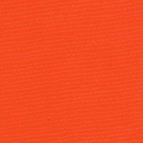 Oil Cloth Solid Orange Fabric By The Yard