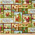 Santa's Journey Blocks Metallic Green