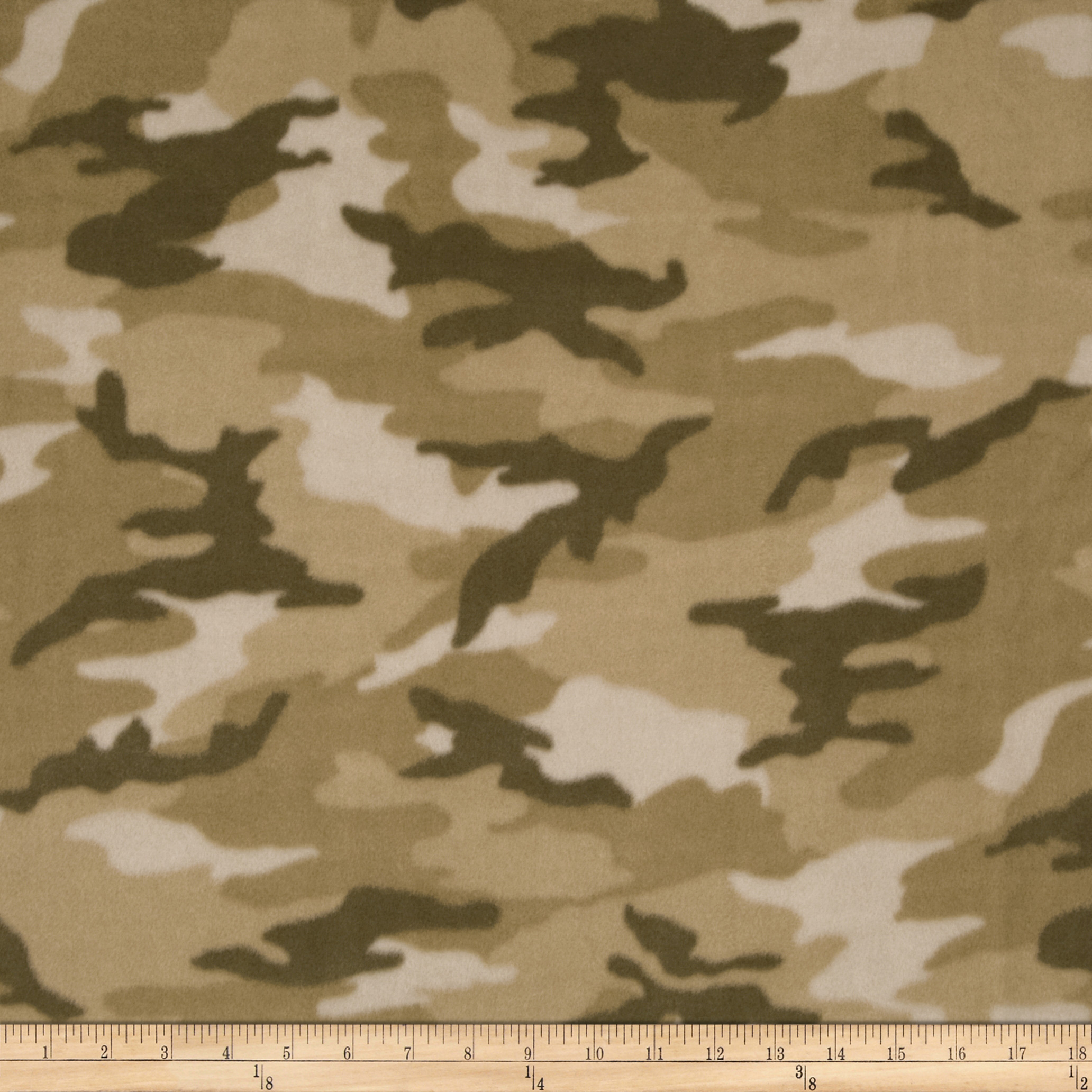 WinterFleece Woodland Camo Tan