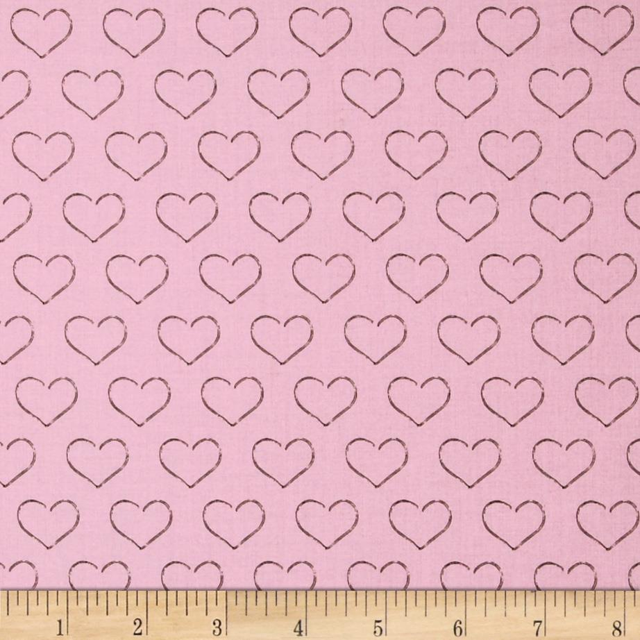 Chocoholics Heart Tonal Pink