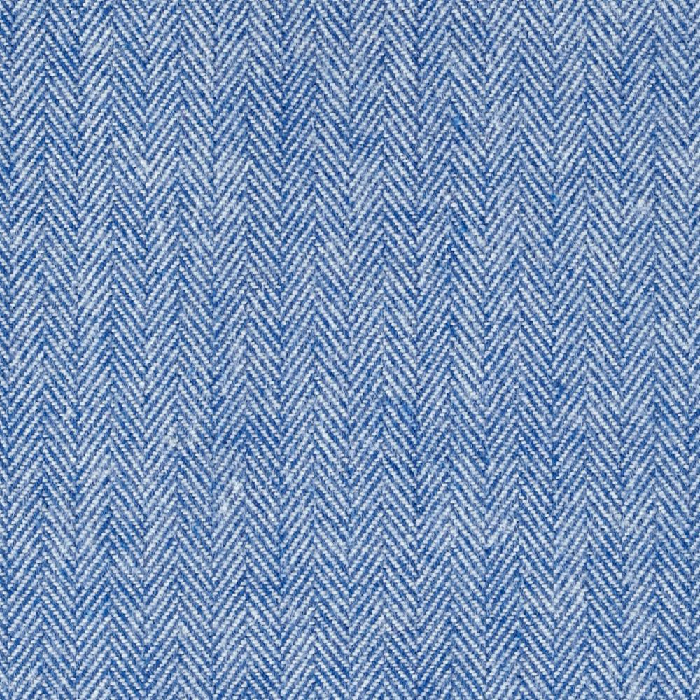 Kaufman Shetland Flannel Herringbone Denim Fabric