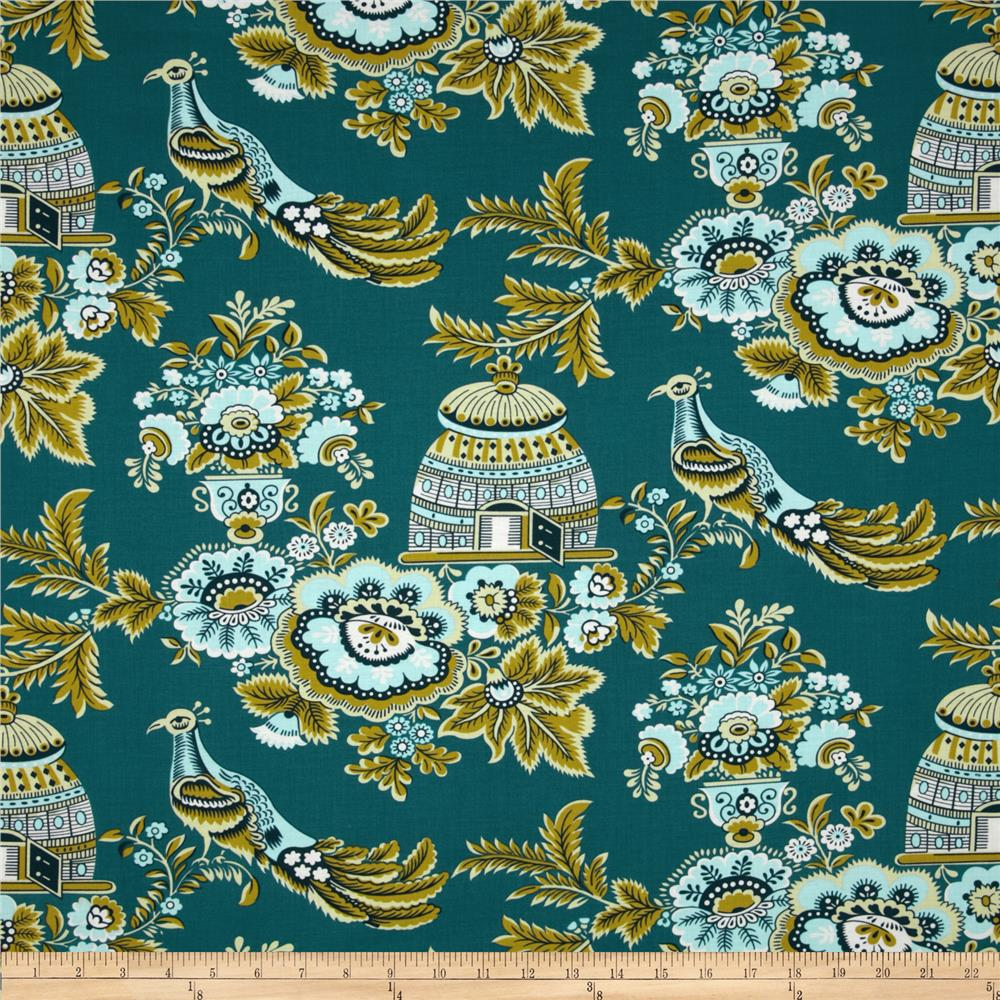 Amy Butler Belle Royal Garden Turquoise