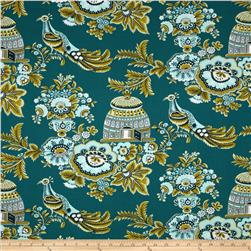 Amy Butler Belle Royal Garden Turquoise Fabric