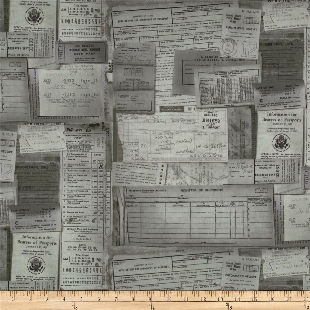 Tim Holtz Eclectic Elements Documentation Taupe