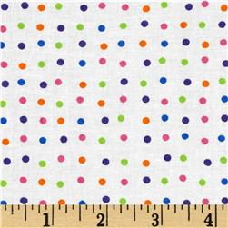 Moda Dot .Dot.Dash-! Mini White