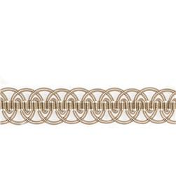 "Mount Vernon 1.75"" Guilloche Trim Hemp"