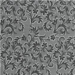 Timeless Treasures Lacey Scroll Grey