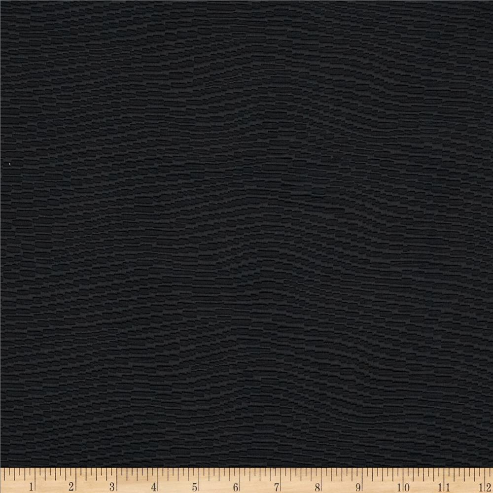 Waverly Billow Jacquard Ebony