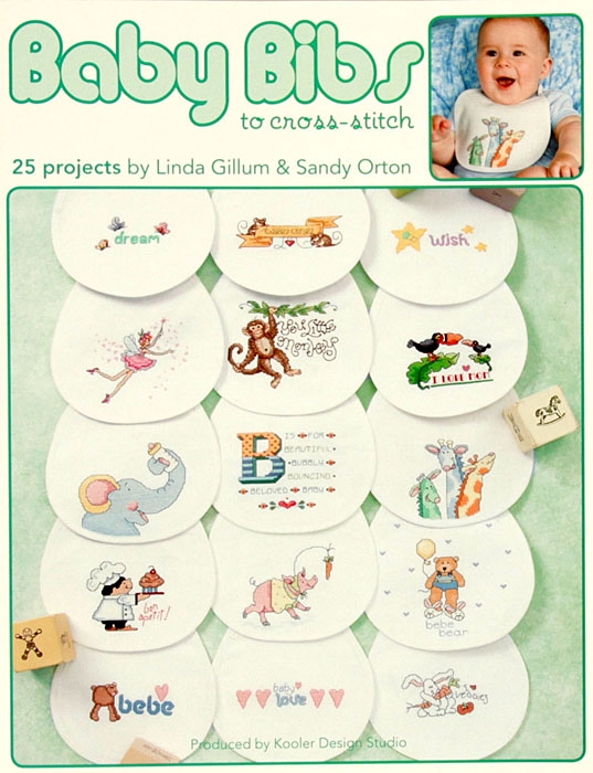 Leisure Arts ''Baby Bibs to Cross Stitch'' Book