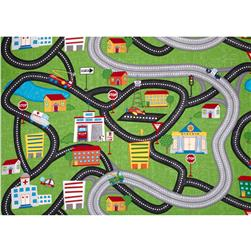 Zip Zoom Playmat Green/Multi