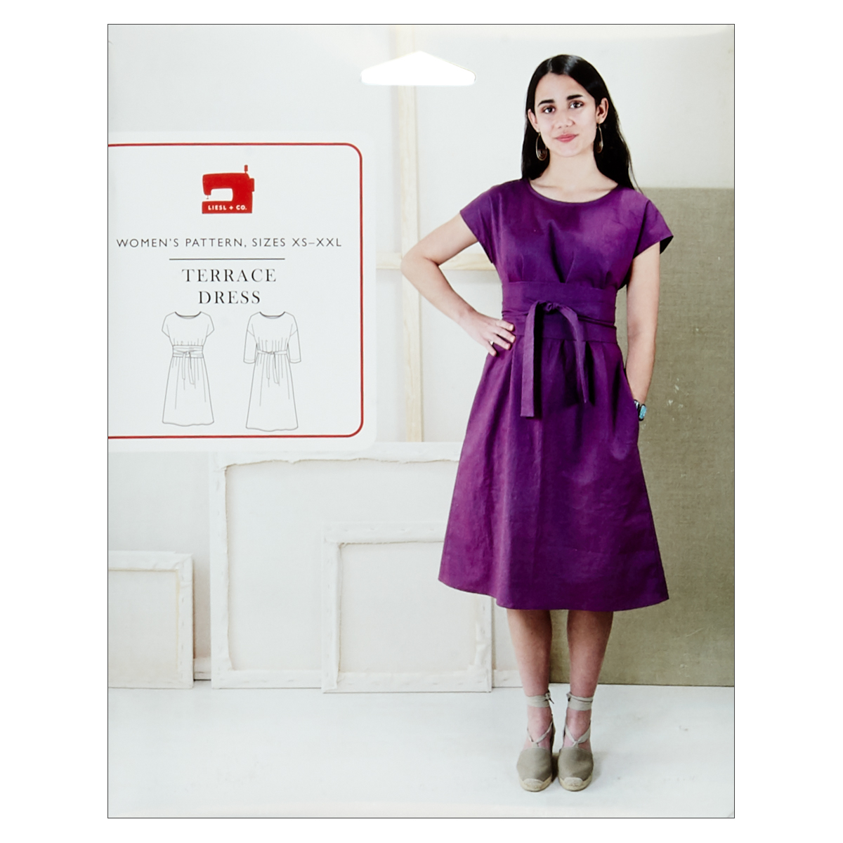 INOpets.com Anything for Pets Parents & Their Pets Liesl + Co. Terrace Dress Sewing Pattern