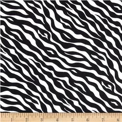 Wild Flower Zebra Skin White/Black