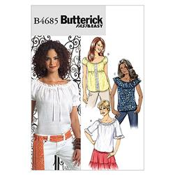 Butterick Misses' Top Pattern B4685 Size BB0