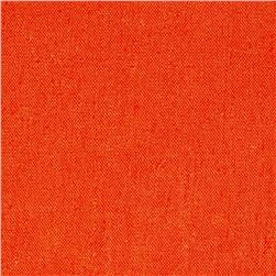 Kaufman Brussels Washer Linen Blend Carrot Fabric