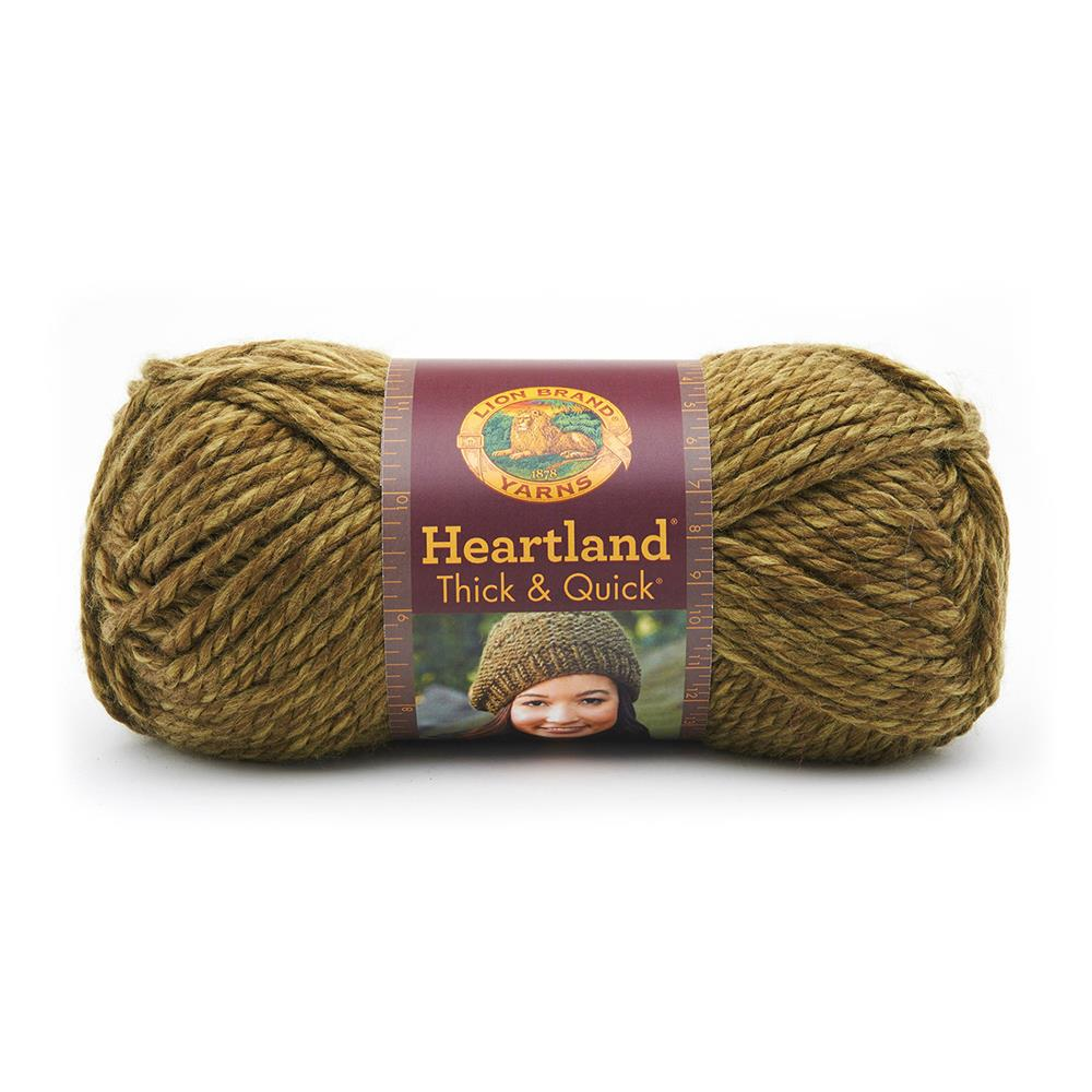 Lion Brand Heartland Thick & Quick Yarn Joshua