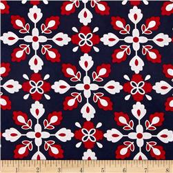 Kanvas Catalina Bandana Navy/Red