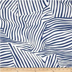 San Tropez Shirting Blue/White