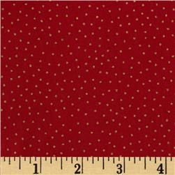 Christmas 2014 Metallic Coordinates  Spot Dot Red