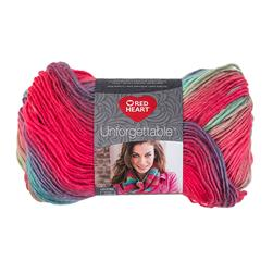 Red Heart Boutique Unforgettable Yarn 3945 Parrot