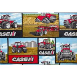 Fleece Case Allover Tractors