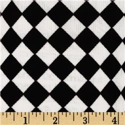 Ponte De Roma Knit Checkerboard Black/White