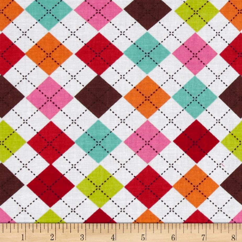 Newcastle Novelties Argyle Brown